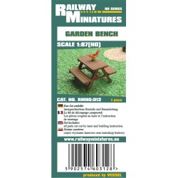RMH0:012 Ława ogrodowa