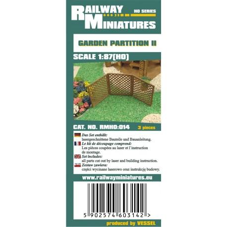 RMH0:014 Garden Partition II