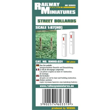 RMH0:031 Street Bollards
