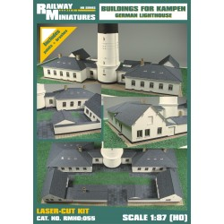 RMH0:055 Buildings for Lighthouse Kampen