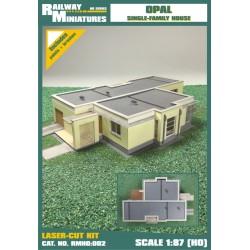 RMH0:002 Dom Jednorodzinny Opal