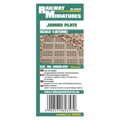 RMH0:057 Jumbo Plate