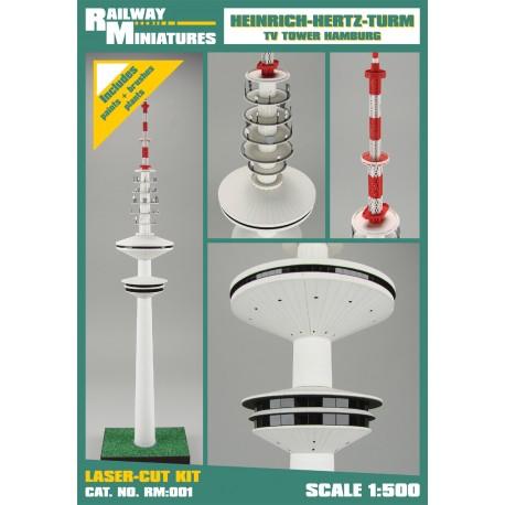 RM:001 Heinrich-Hertz-Turm TV Tower Hambur